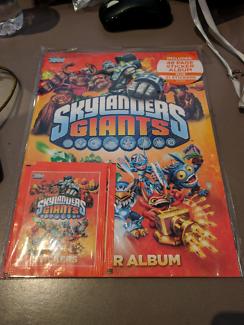 Skylanders giants sticker album