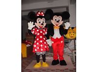 Full adult size mickey mouse costume