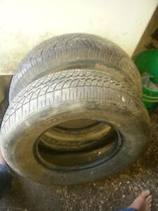 (Two ) 205-70R-14 tires for sale