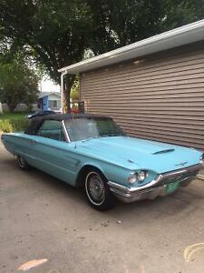 """Vintage 1965 Ford Thunderbird Couple Convertible 390 V8"""