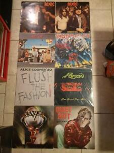 70s n 80s rock and metal records