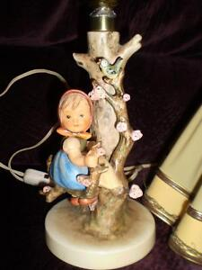 Vintage Hummel apple Girl lamp Strathcona County Edmonton Area image 2