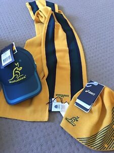Wallabies Supporter Gear $50 for all 3 items (brand new) Woolloongabba Brisbane South West Preview