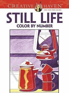 Adult Coloring Creative Haven Still Life Color By Number