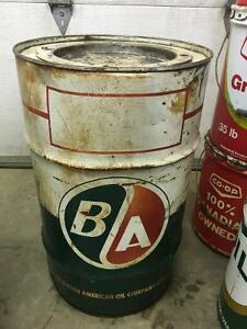 BA Oil Gas Grease Keg