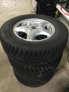 215/70R15 Winter Tires/Mag Wheels