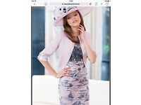 INSPIRATO MOTHER OF THE BRIDE DRESS AND BOLERO JACKET
