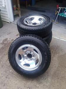 Winter Tires and Crome Rims