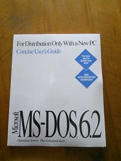 Microsoft MS-DOS 6.2