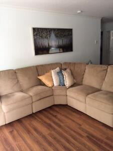 Sectional Couch & Rocker Recliner
