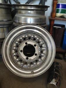 Chrome Wheels with centres