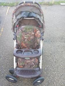 Graco stroller and graco high chair