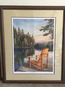 "Ducks unlimited print ""Twilight Reflections"" 489/2006"