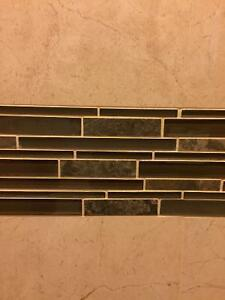 Glass mozaik tiles