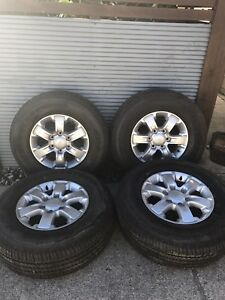 Ford ranger rims and tyres Beerwah Caloundra Area Preview