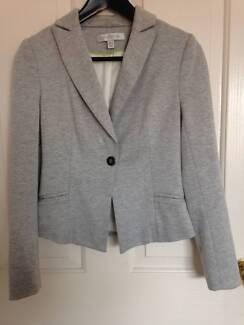 FOREVER NEW grey jersey blazer