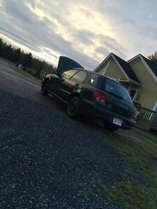 2002 Subaru Impreza Familiale