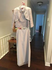 Three Piece Evening Dress - Mother of the Bride or Groom