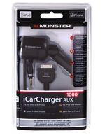 Monster iCarCharger 1000 AUX iPod/iPhone, Neuf ds boite scelle