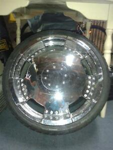 Mags Chrome pour Honda. Bolt pattern 4x100