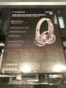 Monster Element Wireless Headphones. We buy and sell used electronics. #45379