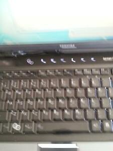 Laptop Toshiba, core 2duo..tres propre