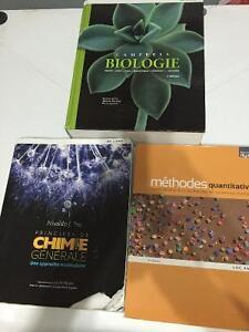 Manuel Biologie, Chimie et sciences humaines