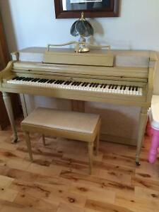 Custom Wurlitzer Studio piano