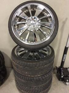 215/35/18 Rims & Tires