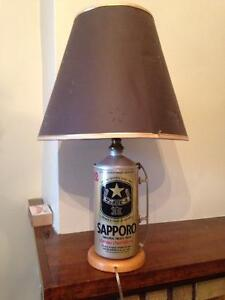 Home Made Sapporo Lamp