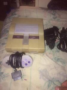 Snes and controller