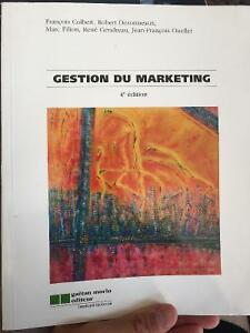 Gestion du marketing 4e édition