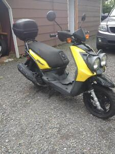 2009 BWS 125 scooter for sale