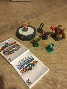 Skylander games with Activision figurines