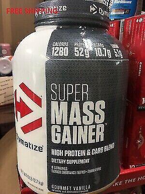 Dymatize - Super Mass Gainer - Vanilla -Protein Powder-  6 l