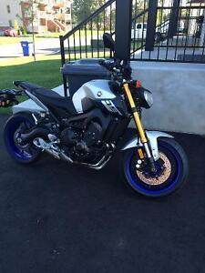 Moto Yamaha FZ-09 Sport Touring Parfait état
