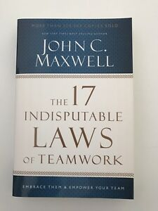 The 17 Indisputable Laws of Leadership John Maxwell Springwood Logan Area Preview