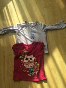 Size 3 pants, couple of shirts and Disney pjs