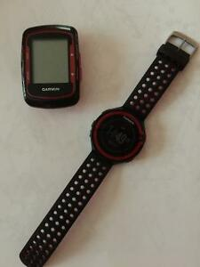 Garmin Forerunner 220 and Edge 500