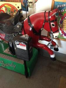 Vintage Sandy The Horse * Coin-Op Ride