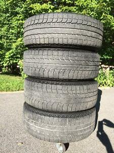 Set of 245/65R17 Winter Tires with tpms on Black Rims Gatineau Ottawa / Gatineau Area image 4