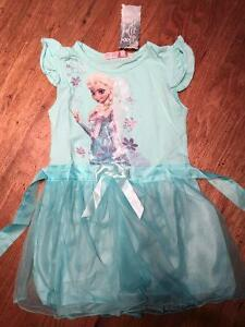 Frozen Elsa dress, brand new with tags, size 3T