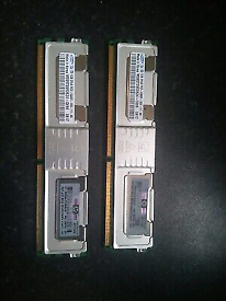 1GB Samsung DDR2 RAM PC2-5300F 2Rx8 M395T2953EZ4-CE66 Storage Memory M