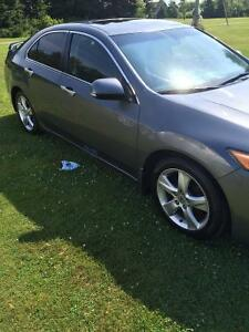 2009 Acura TSX Tech Package Sedan