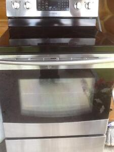 Stainless flat top confection stove