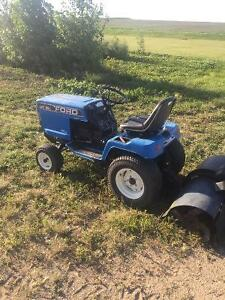 18 hp tractor low hours