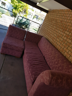Free long couch needs to go urgently