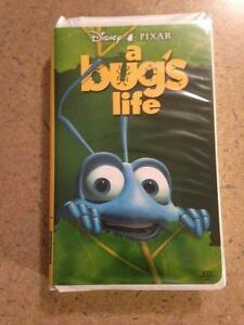 A Bug's Life VHS Tape