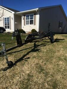 Small boat trailer 14-16 ft