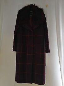 3/3 ladies principles coat size 10 fantastic condition